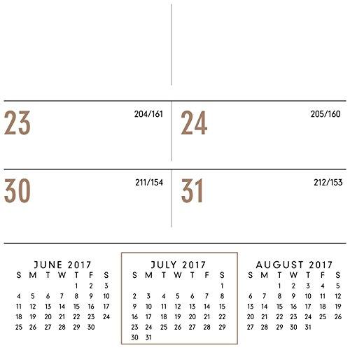 AT-A-GLANCE Academic Desk Pad Calendar, July 2017 - June 2018, 22
