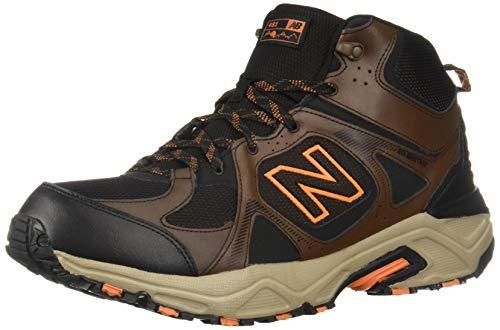 New Balance Men's 481 V3 Cushioning Trail Running Shoe Adrift/Black/Mercury 8.5 D US