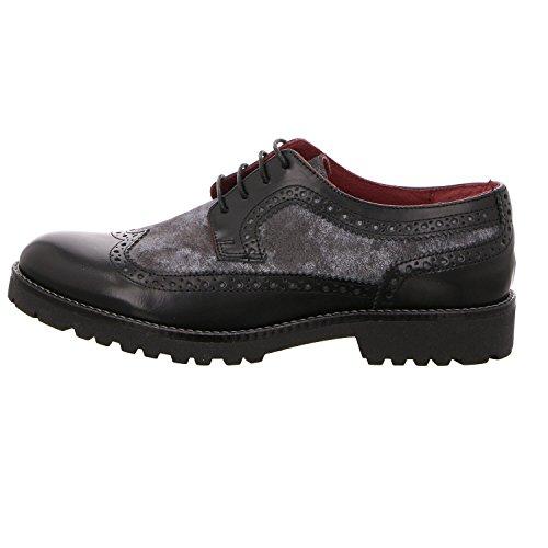 Nero grigio De Para Zapatos Cordones Nicolabenson Mujer vqXx0YwU