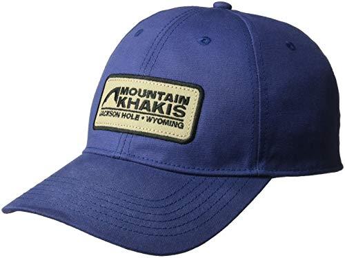 Mountain Khakis Unisex Waxed Cotton Cap, Navy, One Size