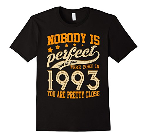 Mens Legends Vintage Made In 1993 25th Birthday Gift 25 years old Medium Black