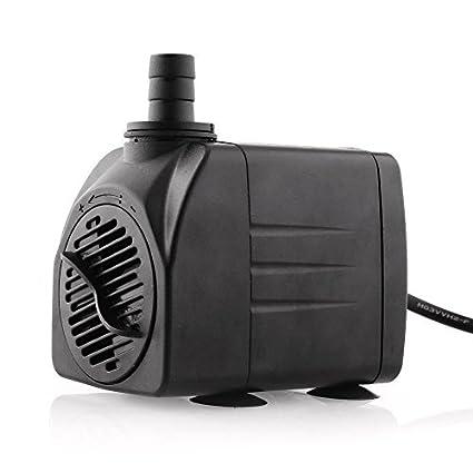 Amzdeal Bomba de Agua Bomba Sumergible Bomba Circulacion, 25W 1200L / H max Altura de