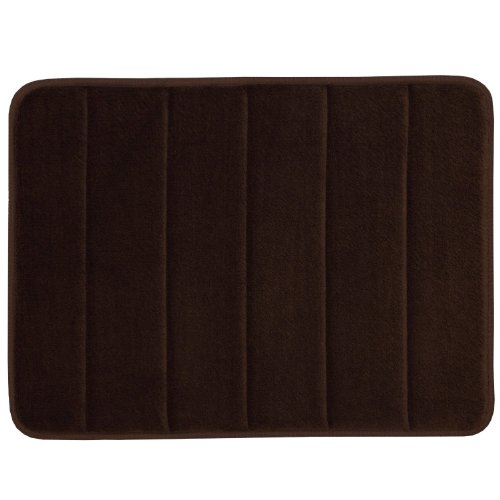 WPMS Incredibly Soft and Absorbent Memory Foam Bath Mat, 17
