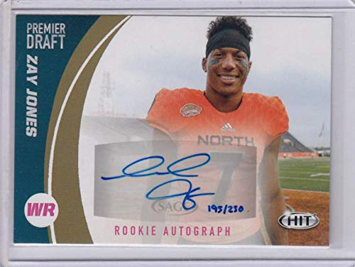 r Draft Rookie Autograph Gold #A94 Zay Jones #A94 NM Near Mint RC Rookie Auto 193/250 ()