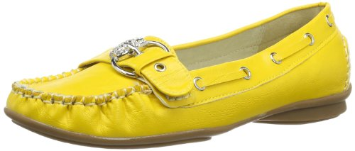 Andrea Conti Women's 0873010 Moccasins Yellow - Gelb (Gelb 051) 07sp0m