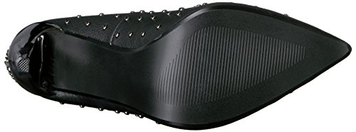 08 vestir Zapatos de Leather mujer Blk para Vegan Demonia VOLTAGE 6AfqwaR
