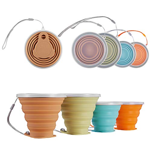 ME FAN Silicone Collapsible Travel Cup product image