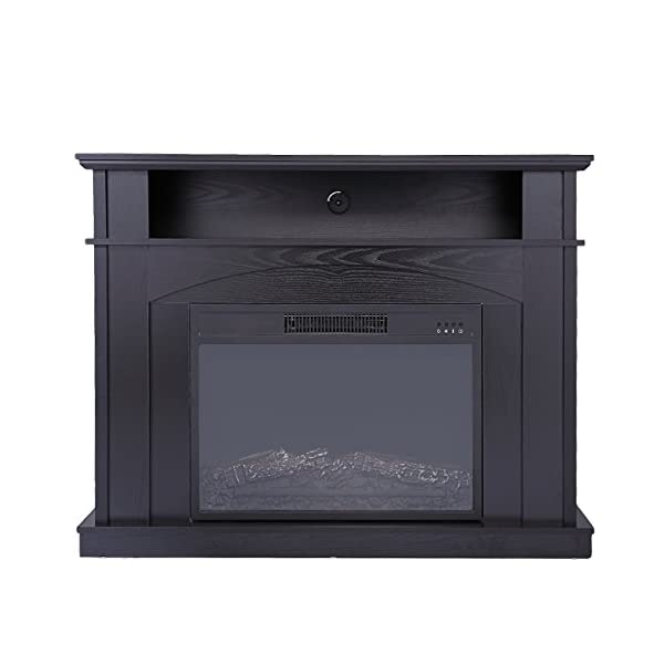 "Sandinrayli 41"" Large 1500W Room Adjustable Electric Fireplace TV stand w/ Remote Control"