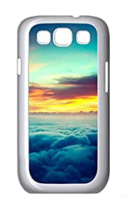 Samsung Galaxy S3 I9300 Cases & Covers - Sunset Above The Clouds PC Custom Soft Case Cover Protector for Samsung Galaxy S3 I9300 - White