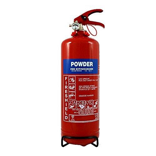 Powder Fire Extinguisher - 2KG ABC Dry Powder Extinguisher FireShield PRO DP001/002