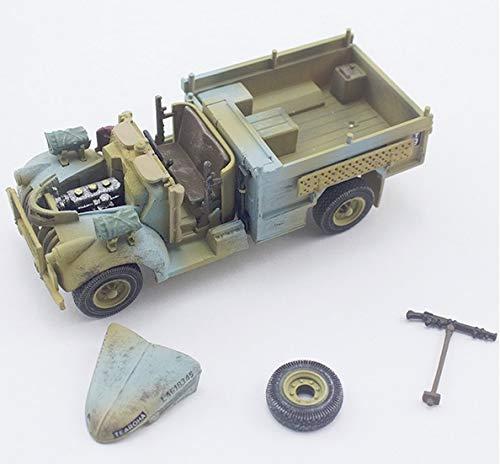 PMA 1:72 British Chevrolet WB 30 CWT 4x2 Long Range Desert Group Patrol Truck - Sand and Blue Camouflage