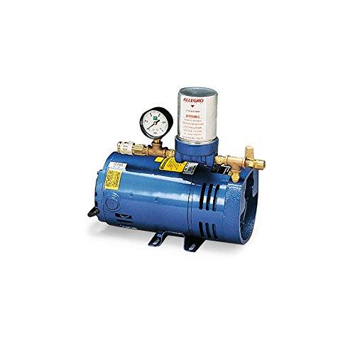 Allegro Industries 9806 Model A‐300 Ambient Air Pump, 1/4 hp Motor, 1-Worker