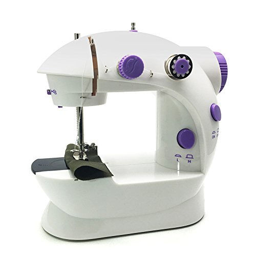 Purchase FlatLED Sewing Machine Mini Portable 2-Speed Double Thread, Double Speed, With Small Light,...