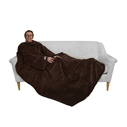 (Slanket The Ultimate, The Original Blanket with Sleeves, Super Soft Faux Fur Throw Blanket, 60x80, with a Foot Pocket)