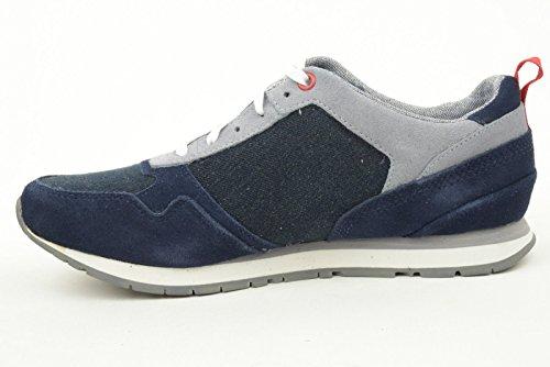 Hombre zapatillas TIMBERLAND baja 9264B Casselton SUEDE O BLUE