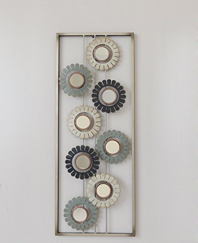 modern chic aluminum metal wall