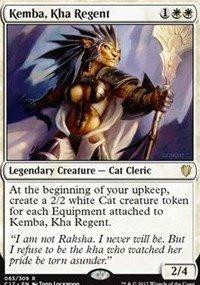 Kemba, Kha Regent - Commander 2017