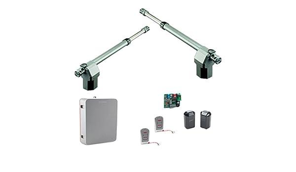 Erreka ARES76 Kit Completo de Motores para Puertas Batientes Residenciales de hasta 4 m, Set de 2 Piezas: Amazon.es: Bricolaje y herramientas