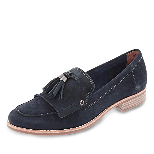 1 Navy Womens 24206 Tamaris Loafers 28 FT0nxq