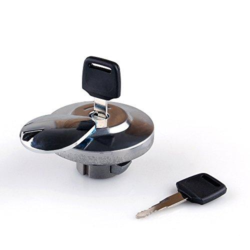 Areyourshop Tan Fuel Gas Cap Lock Key for Honda VTX 1300 Rebel Magna Shadow VLX Spirit - Magna Shadow Honda