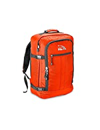 "Cabin Max Metz Backpack Flight Approved Carry on Bag Travel Hand Luggage- 22x16x8"" (Orange)"