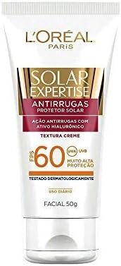 Protetor Solar Facial FPS 60 50g, L'Oréal P