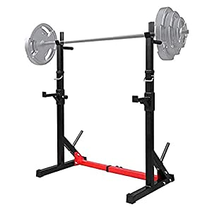 "YYXQ Bench Press Rack丨household Indoor Squat Rack and Bench Press丨adjustable Multifunctional Barbell Rack Squat Bench Press Trainer,44.5 to 62.2"",440lbs"
