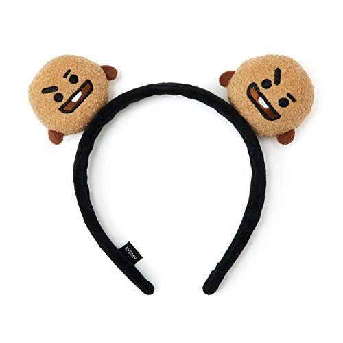 BT21 Shooky Hair Band One Size Brown_Black