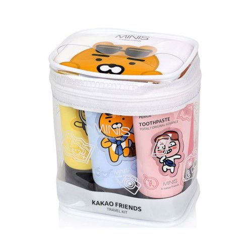 [LG CARE] Kakao Friends Travel Kit 1Pack (5items)