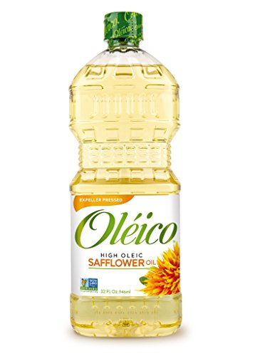 Oléico - High Oleic Safflower Oil 32 fl. oz. (Pack of 3)