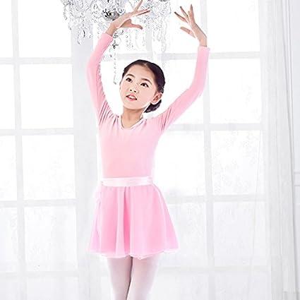 Amazon.com: Bebé niña gimnasia Ballet danza vestido tutú ...