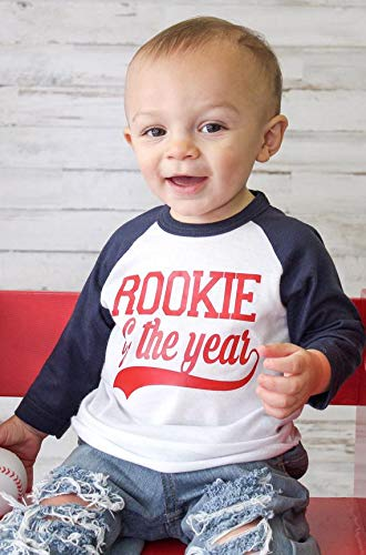 Rookie Of The Year 1st Birthday Shirt Baseball Boys