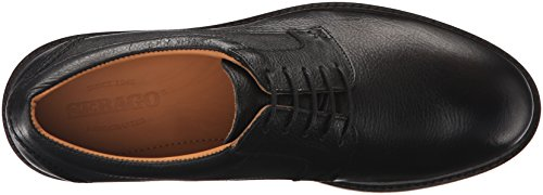 Sebago Heren Bryant Lace Up Oxford Zwart Kiezelsteen Leer