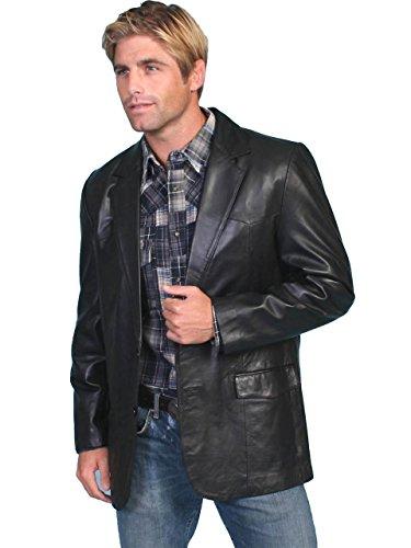 Scully Mens Leather Blazer Regular