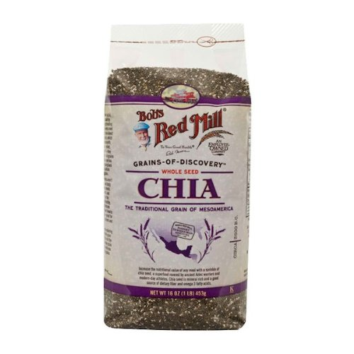 Bob's Red Mill Chia Seeds 12x 16OZ