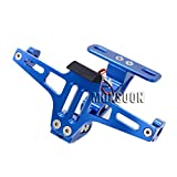 Blue Universal Motorcycle Tail Tidy Fender