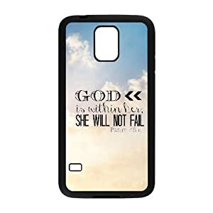 Bible Verse Brand New Cover Case for SamSung Galaxy S5 I9600,diy case cover ygtg619452