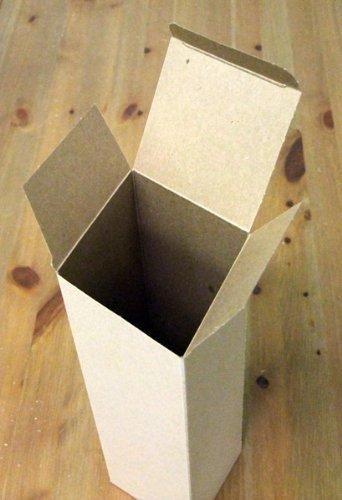 12 Wine Gift Boxes: Kraft - 3.5