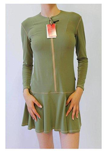 Spring Dress Toronto Made BRUNO IERULLO Women's in Canada Green aqx1nS4nA