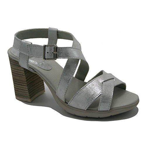 Callaghan , Chaussures de ville à lacets pour homme argent
