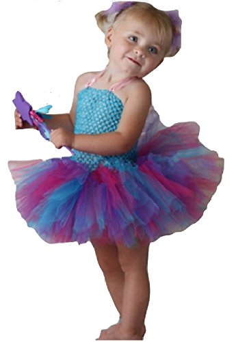 Abby Cadabby Costume TuTu Dress/ Headband/ Wings from Chunks of Charm (12 Months, TuTu Dress)