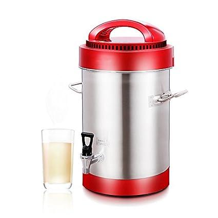 Comercial de leche de soja, la máquina completamente automática de gran capacidad 10L, recién molido, ninguna filtración,27*50cm.: Amazon.es: Hogar
