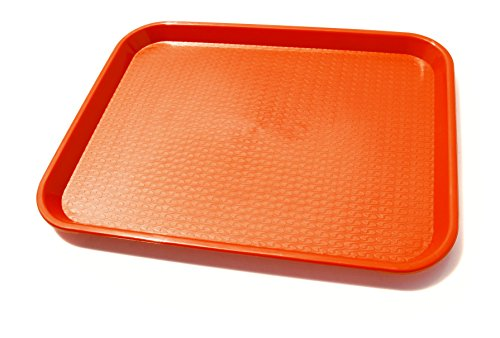 New Star Foodservice 24814 Fast Food Tray, 14-Inch by 18-Inch, Set of 12, - Tray Plastic Load