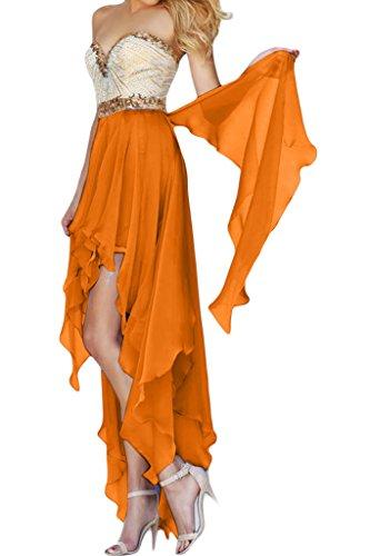 Orange ad linea Donna Missdressy a Vestito qYaqX4