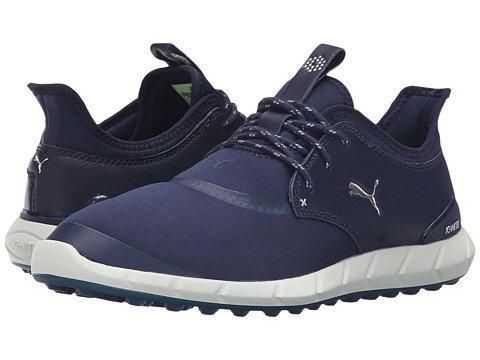 PUMA  - (プーマ)  Spikeless Ignite Sport Medium [並行輸入品] Peacoat/Silver/White B06XK7YKPY D メンズゴルフシューズ靴 7 25cm