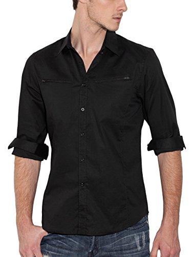 G by GUESS Men's Shivers Long-Sleeve Shirt