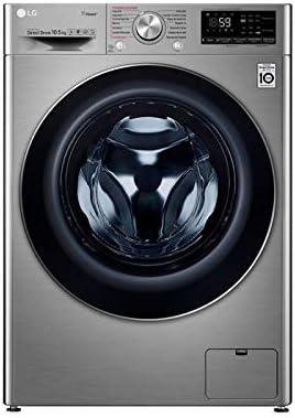 Lavadora LG F4WV710P2T 10.5 Kg 1400 rpm Clase A+++ Acero ...
