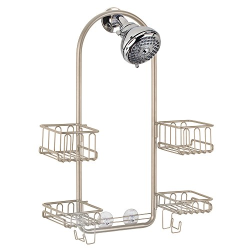 High Quality MDesign Handheld Shower Head Shower Caddy   Satin