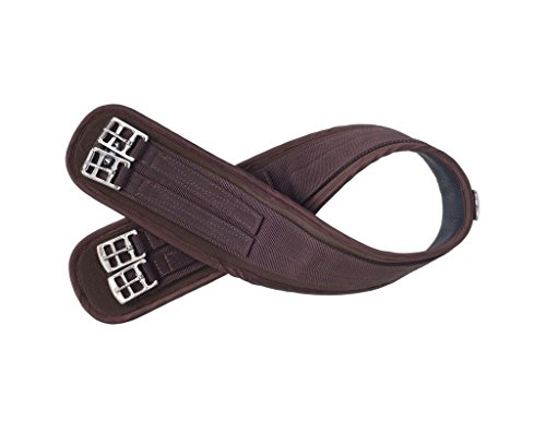 JT International Air Flow Nyloprene English Girth 48 Brown