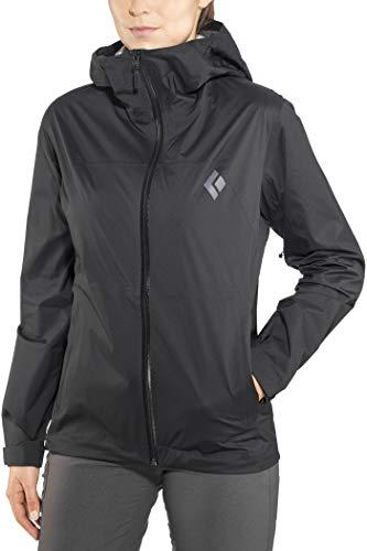 Black Diamond Stormline Stretch Rain Shell Jacket - Women's Black - Jacket Stretch Shell